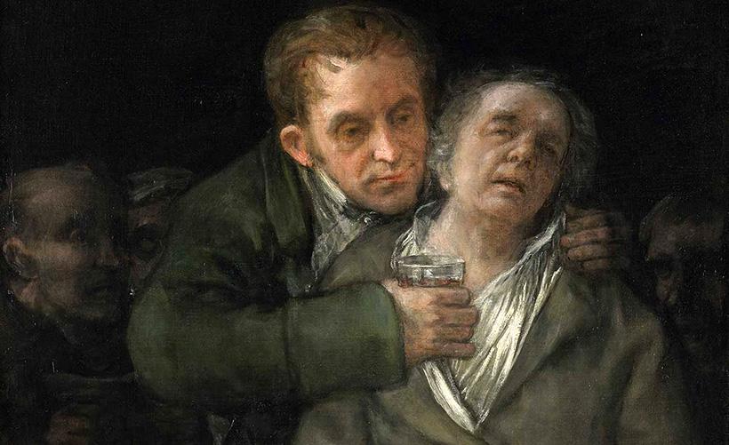 Гойя и его врач Аррьета